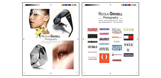 Nicolai Grosell Comp Card and Client List